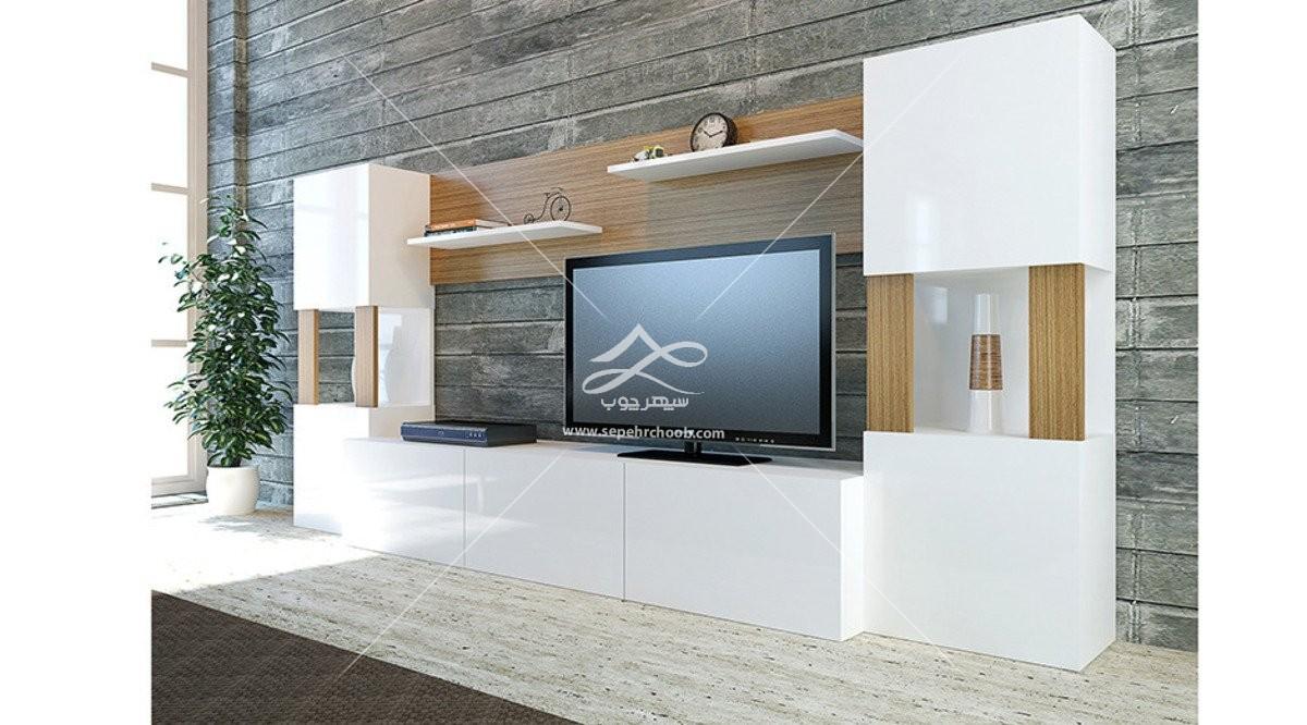 میز تلویزیون مدرن با طراحی شیک