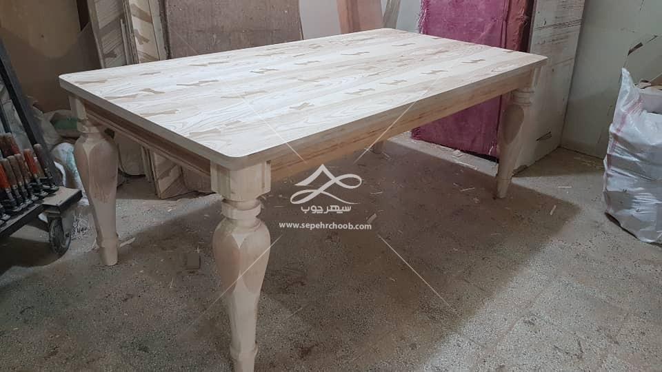 میز ناها رخوری کلاسیک چوبی