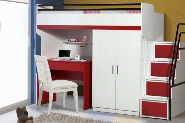 سرویس خواب قرمز سفید