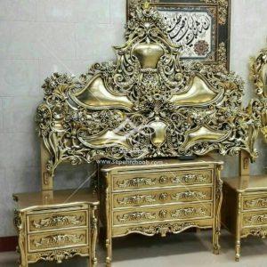 سرویس خواب دو نفره طلایی