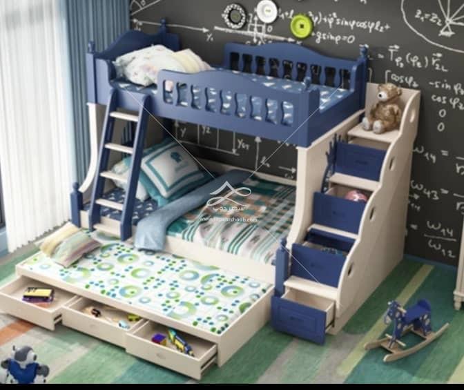 تختخواب دو طبقه پسرانه