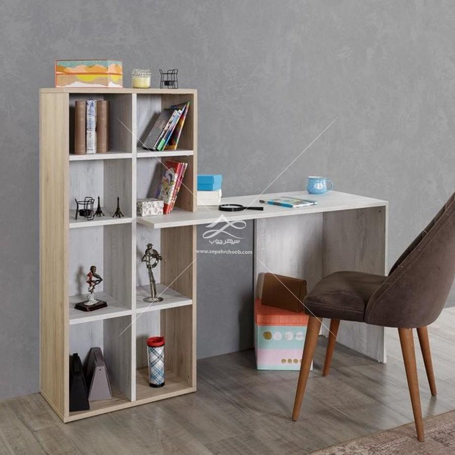 میز تحریر ساده و ارزان برای اتاق کار خانگی