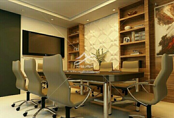 دکوراسیون اتاق کار خانگی با فضای غیر بسته