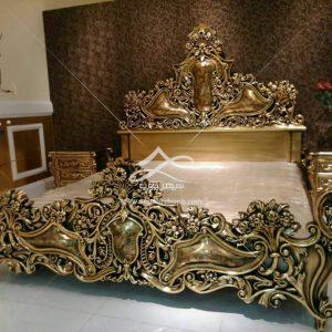 تخت خواب دو نفره تاج بلند