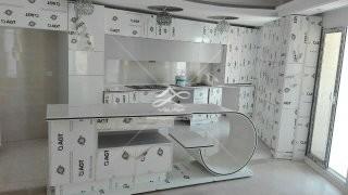 کابینت مدرن آشپزخانه یک تیکه