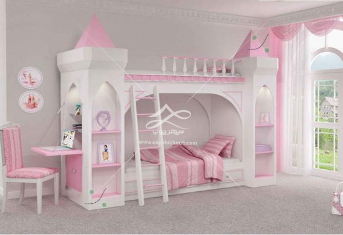 تخت خواب پرنسسی فانتزی