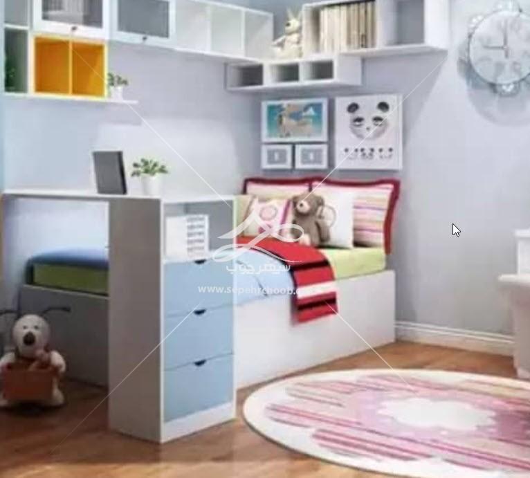 طراحی تخت خواب پسرانه