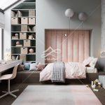تخت تک نفره چوبی ایده ال